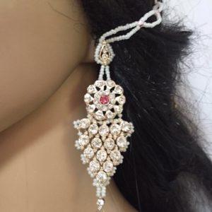 Kolczyki srebrne z perelkami