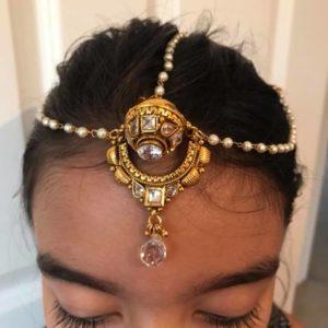 Ozdoba na wlosy perelki