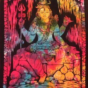 Ozdoba na sciane bawelna Shiva