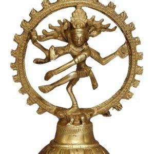 Lord Shiva figurka mosiadz