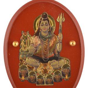 Lord Shiva stojacy do auta