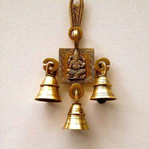Dzwonki metalowe Ganesh