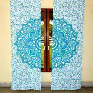 Zaslony mandala 2x po 103×223 cm