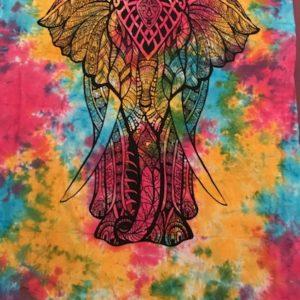 Przescieradlo bawelna slon 137×200 cm