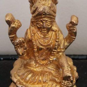 Lakshmi stalowa figurka