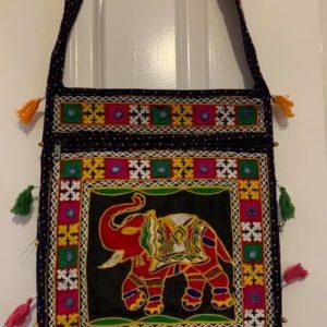 Torebka materialowa slon