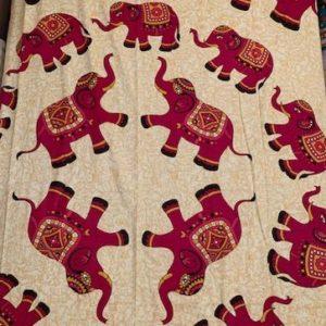 Przescieradlo bawelna slonie 140×210