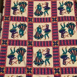 Przescieradlo kolorowe bawelna 140×210 cm
