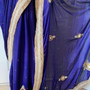Saree sari grantowe ze zlotem
