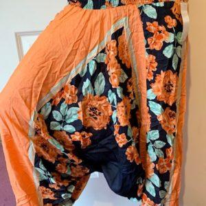 Spodnie alladynki bawelna