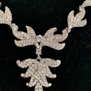 Komplet bizuterii srebrny