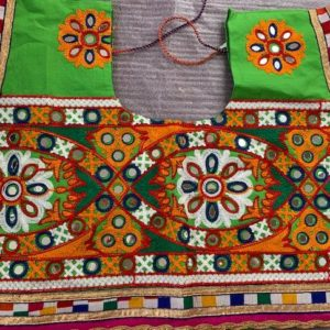 Choli kolorowe lusterka, bawelna