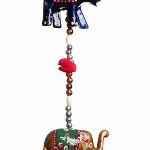 Ozdoba na drzwi okno slonie dzwoneczki