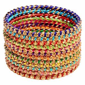Bangle bransoletki kolorowe 7 cm