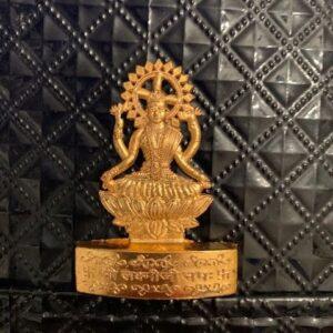 Lakshmi metalowa zawieszka Indie 486