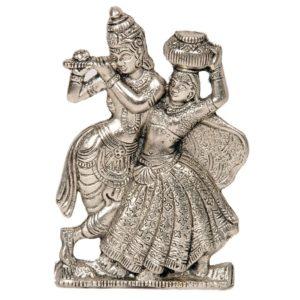 Krishna i Radha metalowa figurka (114)
