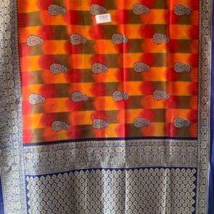 Sari saree kolorowe, frezle