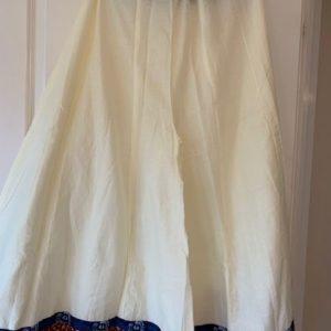 Spodnica spodnie bawelna kremowe 204