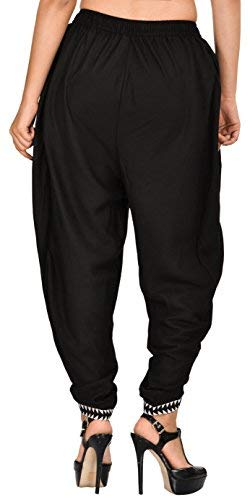 Spodnie czarne rayon