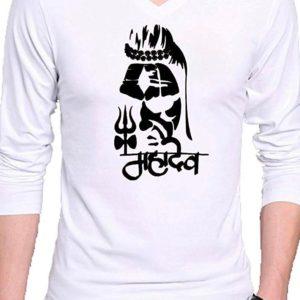 Bluzka meska biala Shiva  Xl