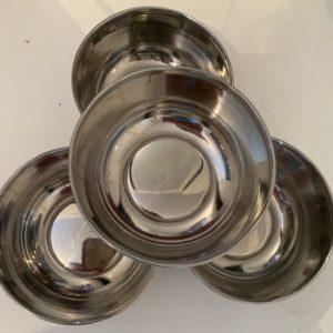 Miseczka metalowa sred 10 cm