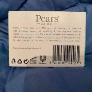 Pears mydlo glicerynowe kwiat cytryny 125g