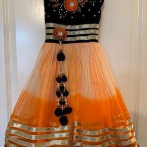 Sukienka kolorowa dziewczynka 4-7 lat (288)
