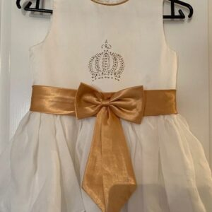 Sukienka falbanki dziewczynka 6-8 lat (286)