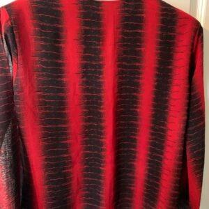 Tunika czarno czerwona S/M (412)
