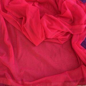 Dupatta rozowa ze zlotem (429)