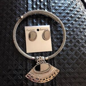 Komplet bizuterii srebrny  616