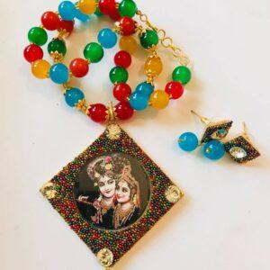 Krishna Radha komplet bizuterii 535