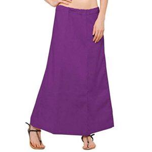 Halka pod sari fiolet  bawelna T74