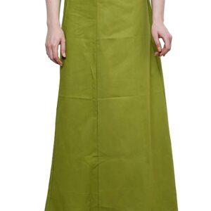 Halka pod sari jasno zielona bawelna T73