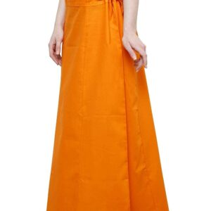 Halka pod sari pomarancz  bawelna T77