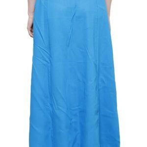 Halka pod sari bawelna niebieska T71