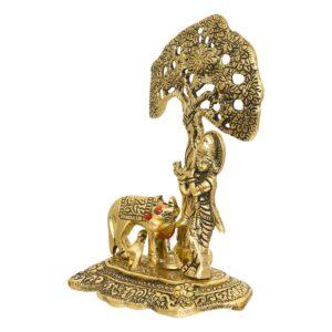 Krishna figurka metalowa T60