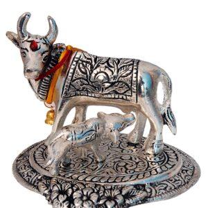 Figurka krowy metalowa T42