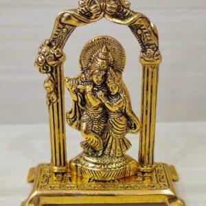 Radha Krishna figurka metalowa T31