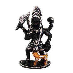 Matha Kali figurka metalowa Indie (A102)