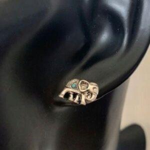 Kolczyki  słoniki małe sztyfty