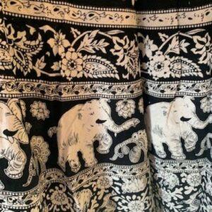 Spodnica bawelna wzory zakladana Indie 258