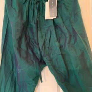 Spodnie zielone roz uniwersalny Indie (283)