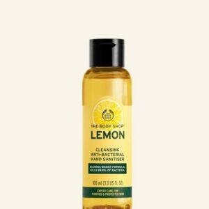 Lemon Cleansing Anti-Bacterial Hand Sanitiser 100 ml S066