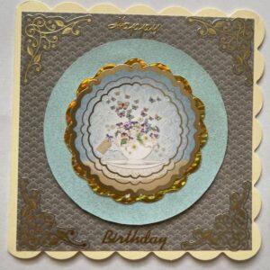 Kartka urodzinowa  mała A014