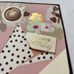 Kartka urodzinowa  mała A015