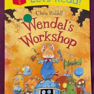 """""""Wendel's Workshop""""  książka dla dzieci  A142"""