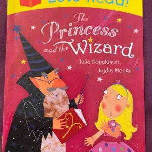 """""""The Princess and the Wizard""""  książka dla dzieci  A138"""