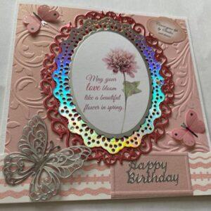 Kartka urodzinowa  A007