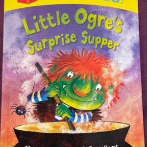"""Little Ogre's Surprise Supper""  książka dla dzieci  A139"